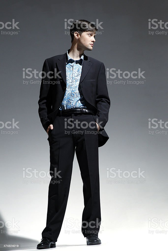 Male Fashion Model stock photo