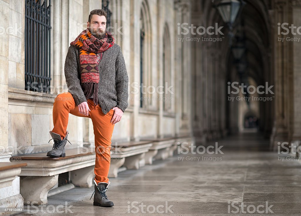 Male Fashion stock photo