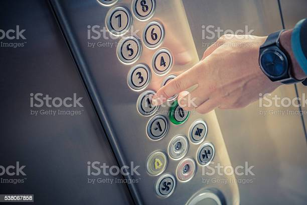 Male finger pressing the first floor button in the elevator picture id538067858?b=1&k=6&m=538067858&s=612x612&h=modn3db0gkyyf7edz6bjsbkxsqttxyqe5banmnt7864=