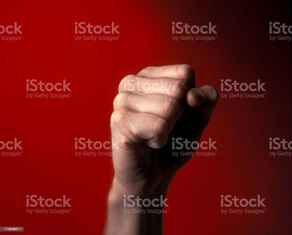 male fist royalty-free stock photo