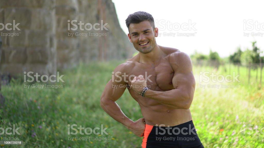 heta naken Fitness modeller