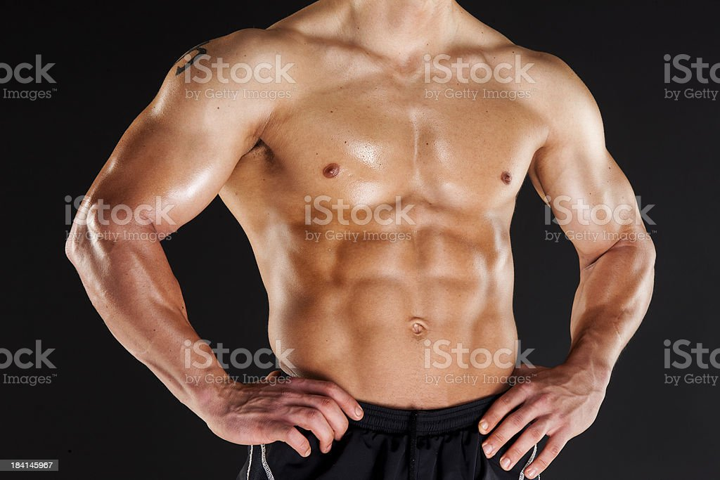 Male Fitness royalty-free stock photo