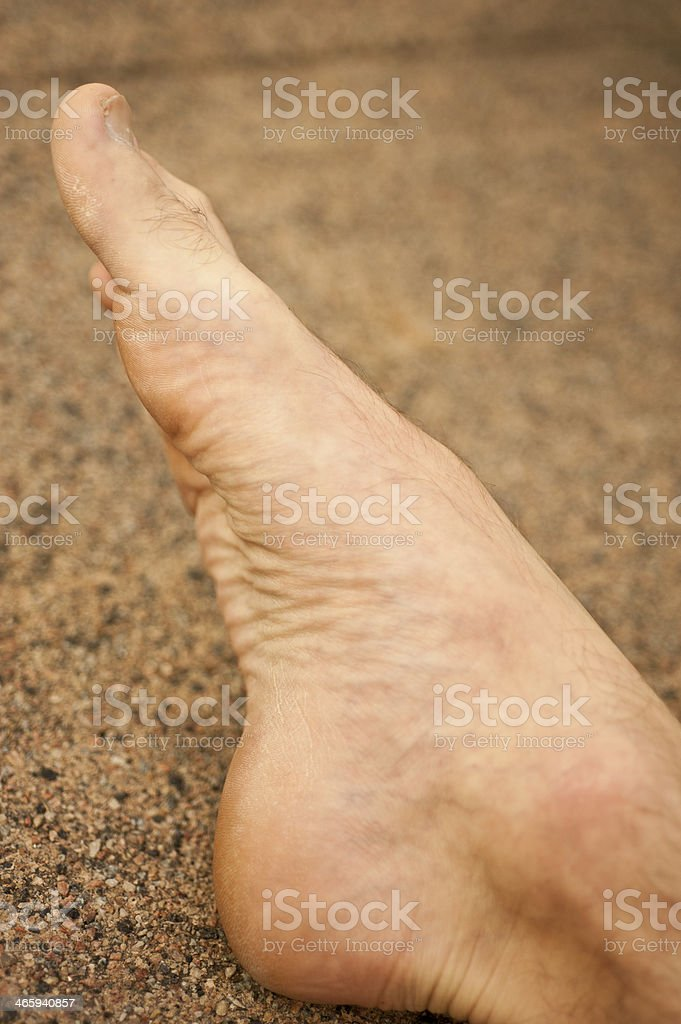 Male Foot royalty-free stock photo