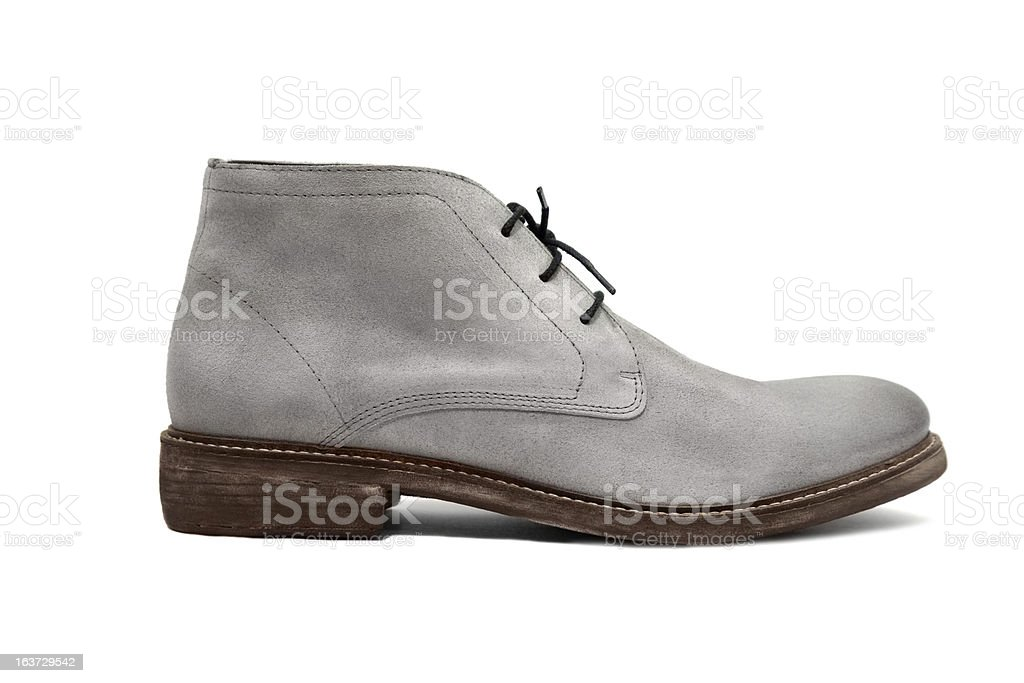 Male footwear stock photo