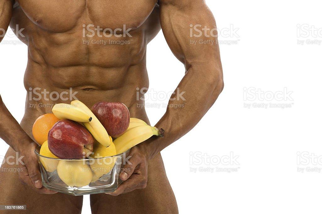 Male Fruits stock photo