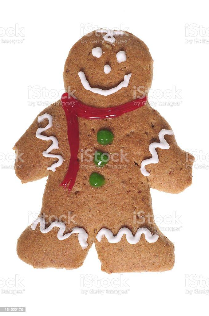 Male Gingerbreadman royalty-free stock photo