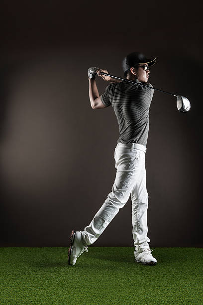 Herren-Golfspieler – Foto
