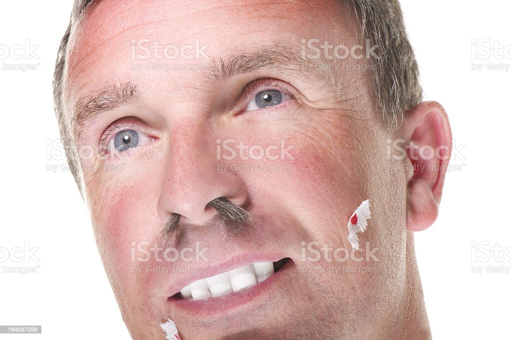 male grooming stock photo