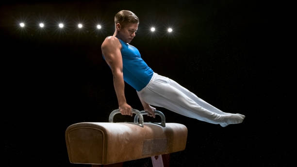 Male gymnast on pommel horse picture id946017132?b=1&k=6&m=946017132&s=612x612&w=0&h=k4ud1yq6tf8t5cyl jz4shaacea1lflztlgrp6r6jgy=