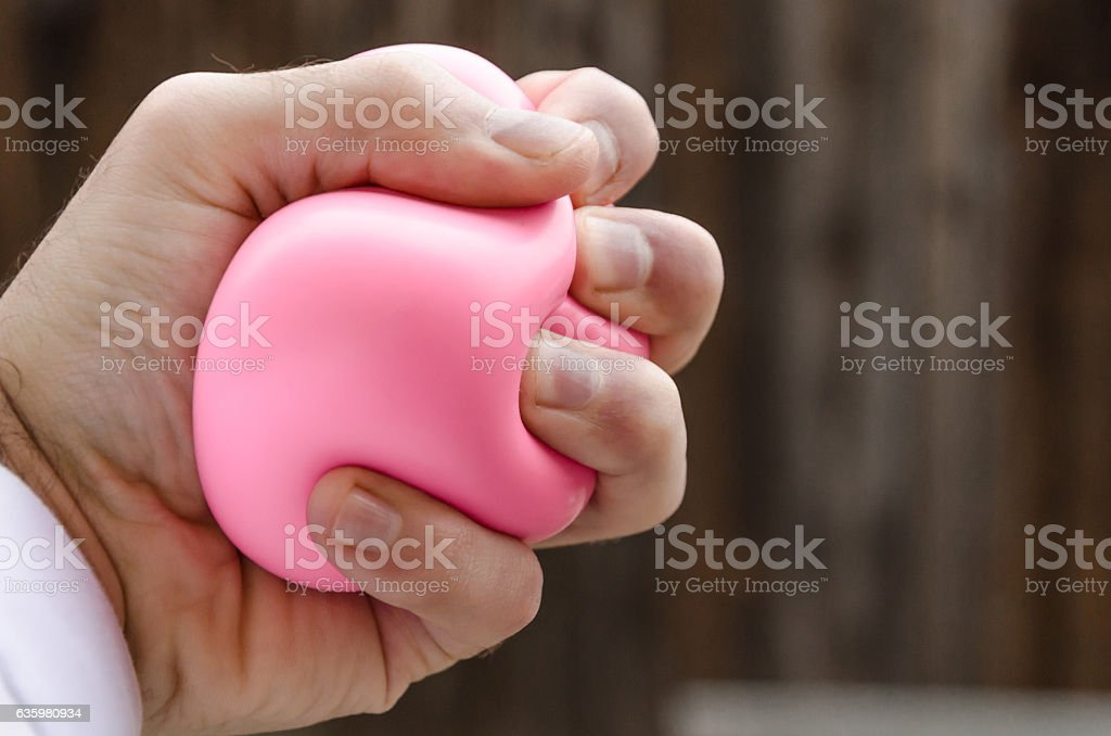 Pressing Hand