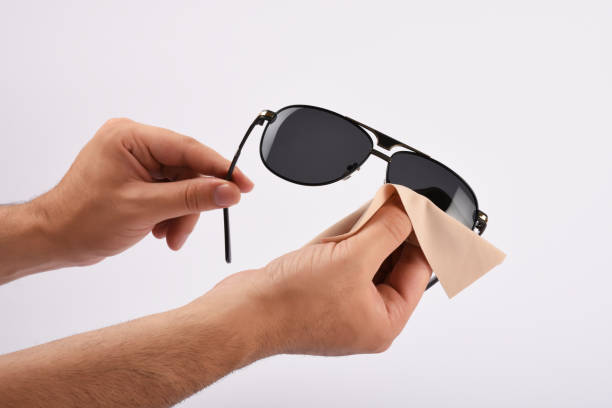Male hands cleaning sunglasses with microfiber cloth picture id1166862803?b=1&k=6&m=1166862803&s=612x612&w=0&h=jzniznexnyipolq08y3ivguqfefmvievm2him cuvcy=