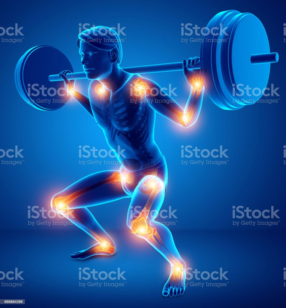 Male Joint Pain stock photo