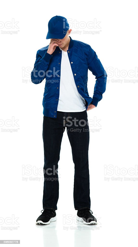Male looking sad royalty-free stock photo