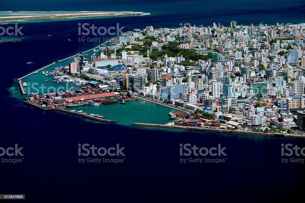 Male', Maldives stock photo