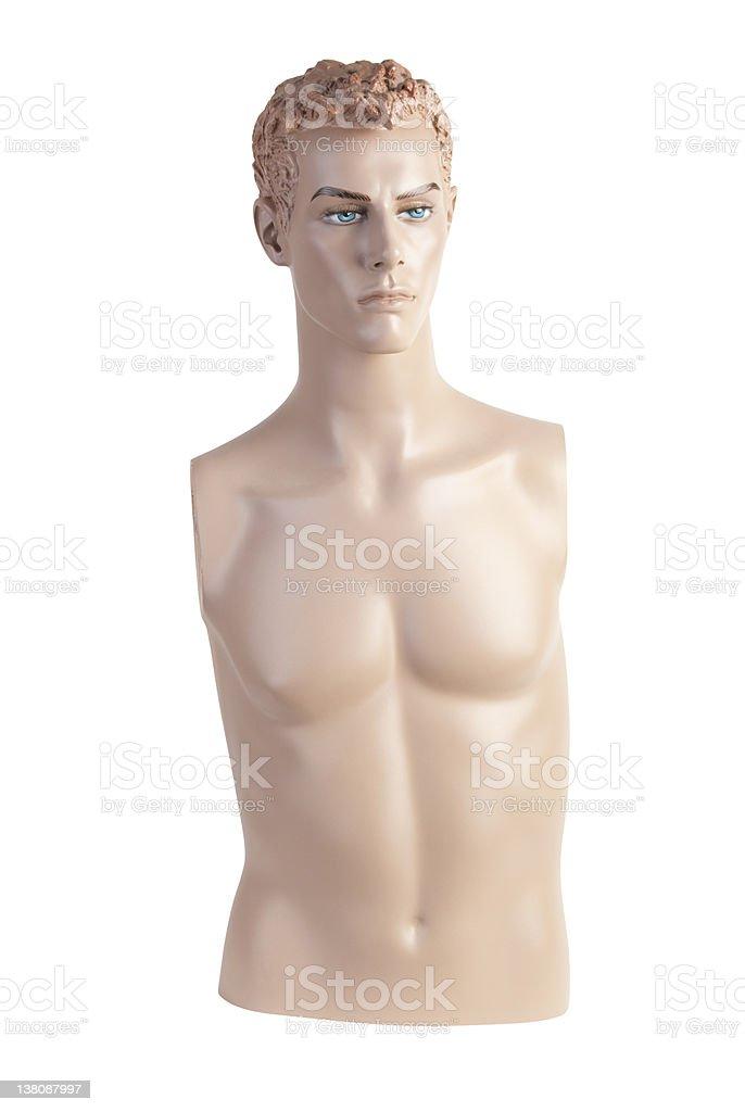 Male mannequin torso | Studio isolated stock photo