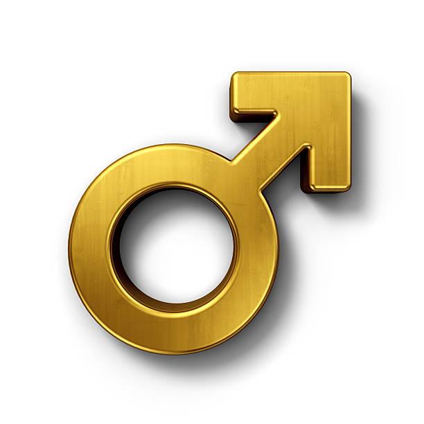 Masculino mars placa de ouro - foto de acervo