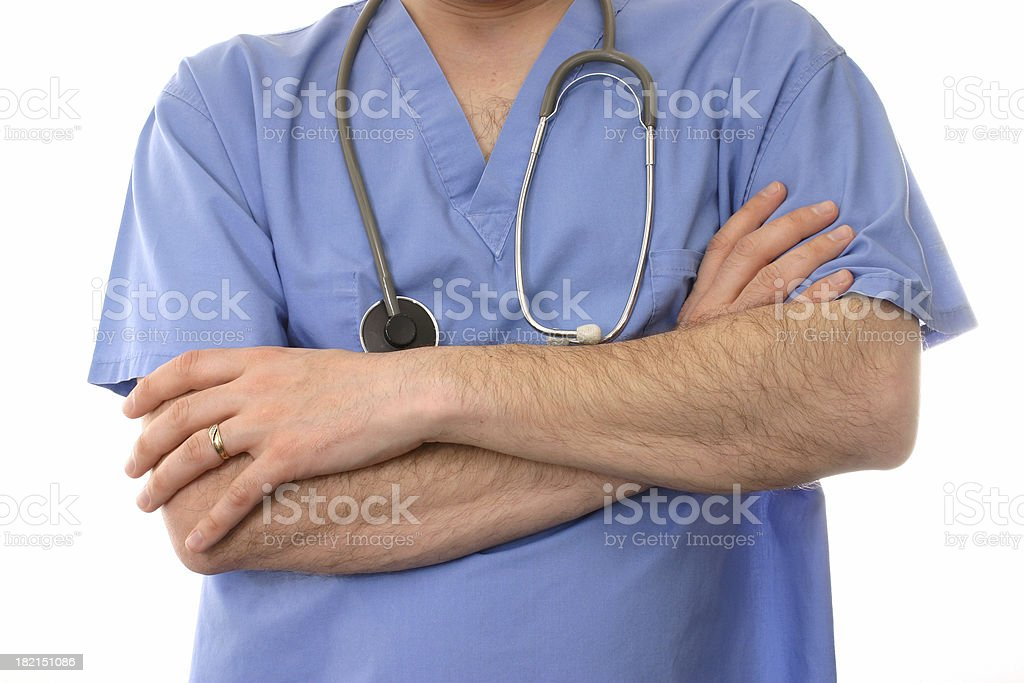 Male Medical Worker royalty-free stock photo
