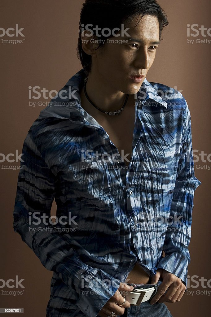 Male Model 17 royalty-free stock photo