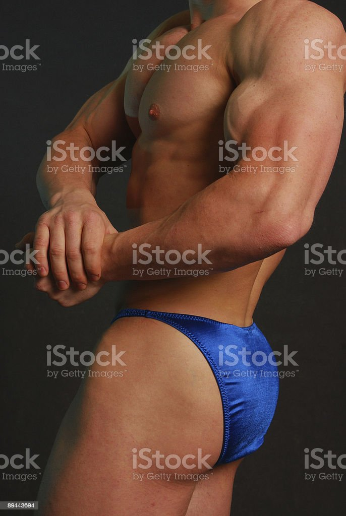male muscle royalty-free stock photo