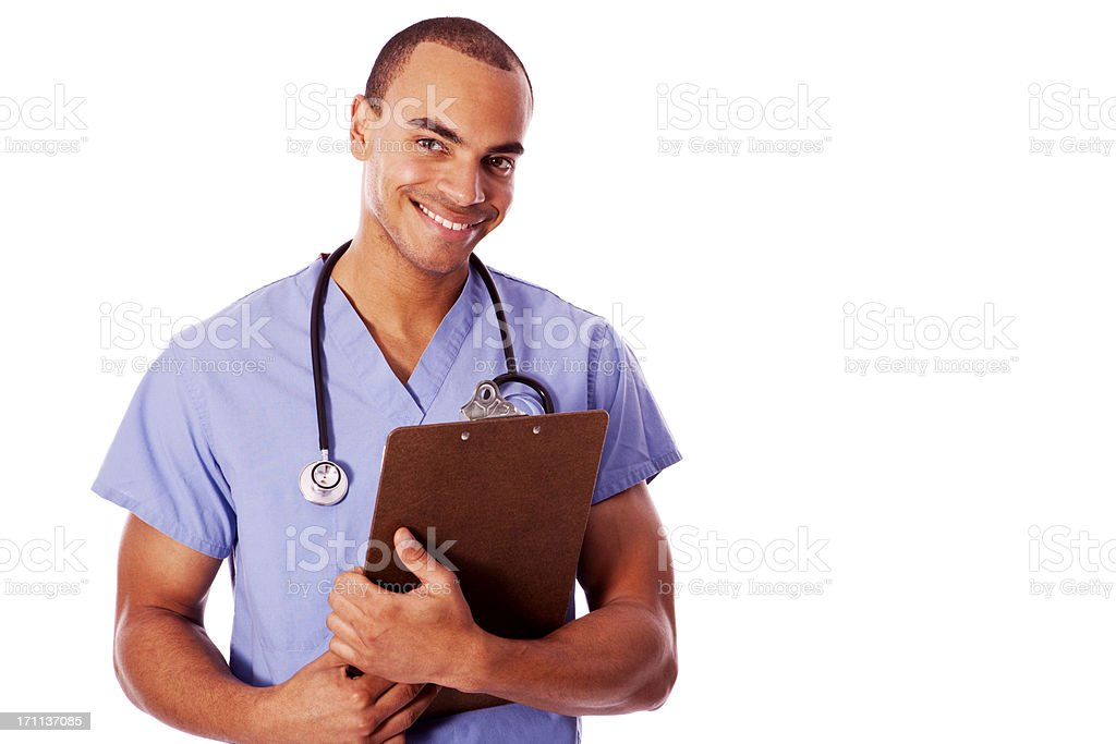 Male Nurse royalty-free stock photo