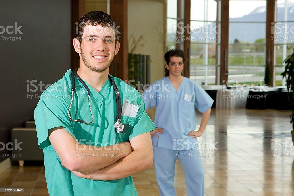 Male Nurse Portrait royalty-free stock photo