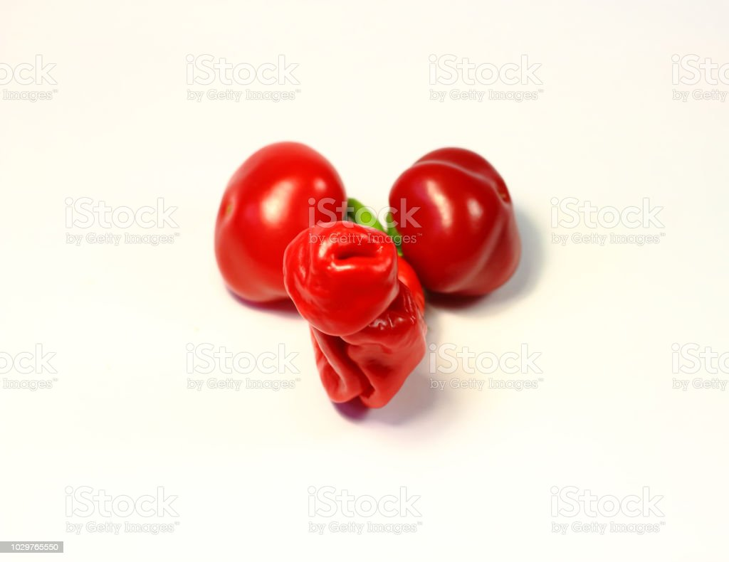 Male Penis Made From Hot Pepper Stock Photo