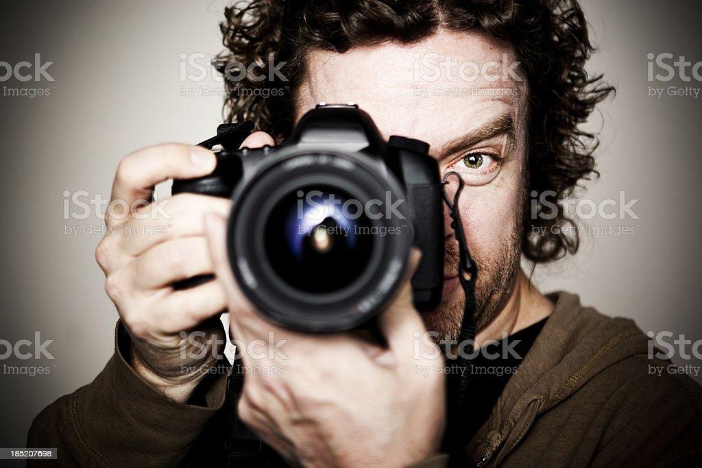 Male Photographer Portrait royalty-free stock photo