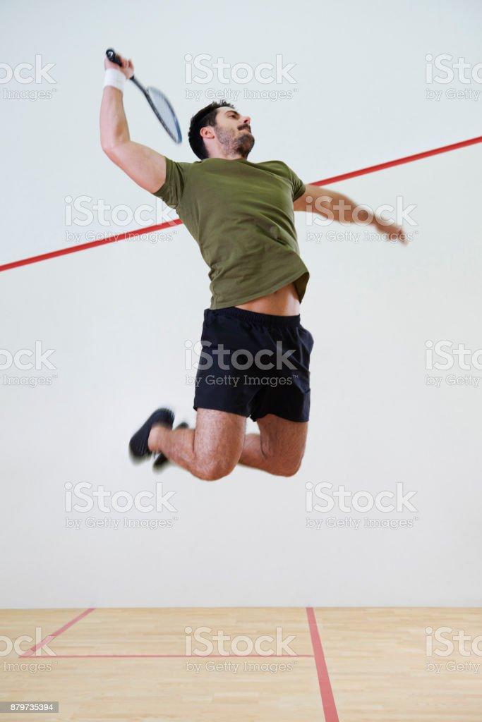 tipos de golpes de squash