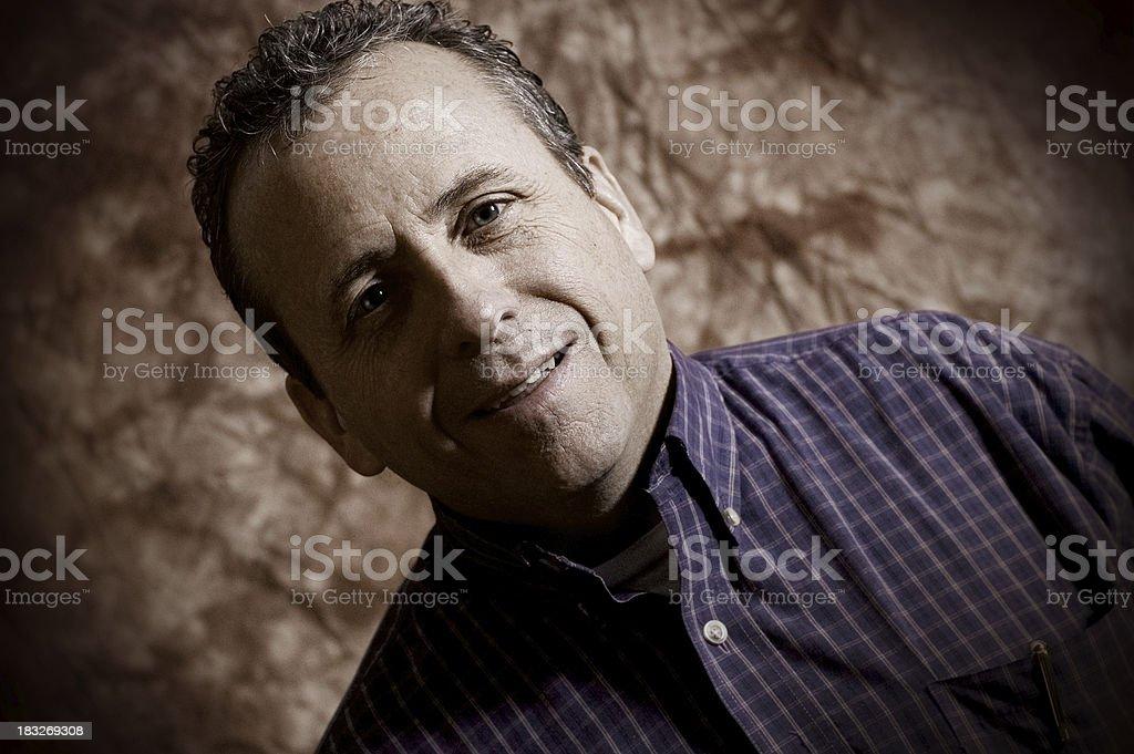 Male Portrait 3 royalty-free stock photo