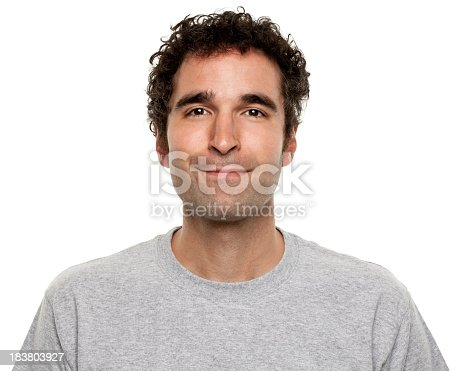 Portrait of a man on a white background. http://s3.amazonaws.com/drbimages/m/doncam.jpg
