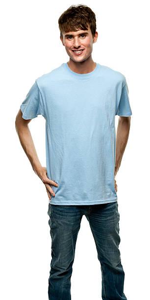 männliche porträt - geek t shirts stock-fotos und bilder