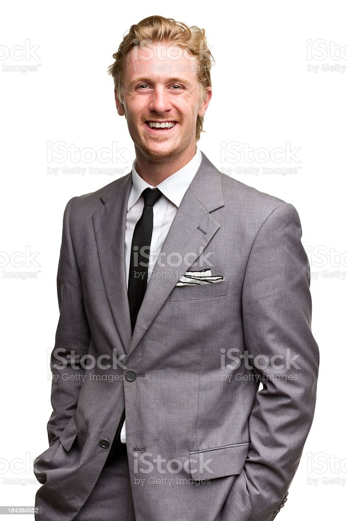 Male Portrait stock photo