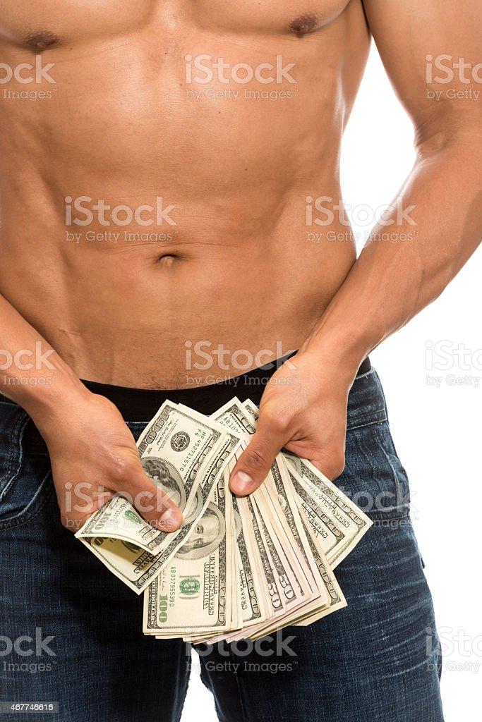Male Prostitute stock photo