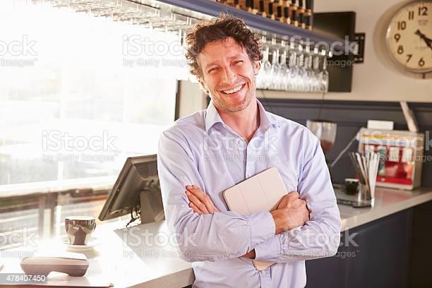 Male restaurant owner holding digital tablet portrait picture id478407450?b=1&k=6&m=478407450&s=612x612&h=ixkawkqeqvrlpbdyivtr9806vzil pxltuoqzratxes=