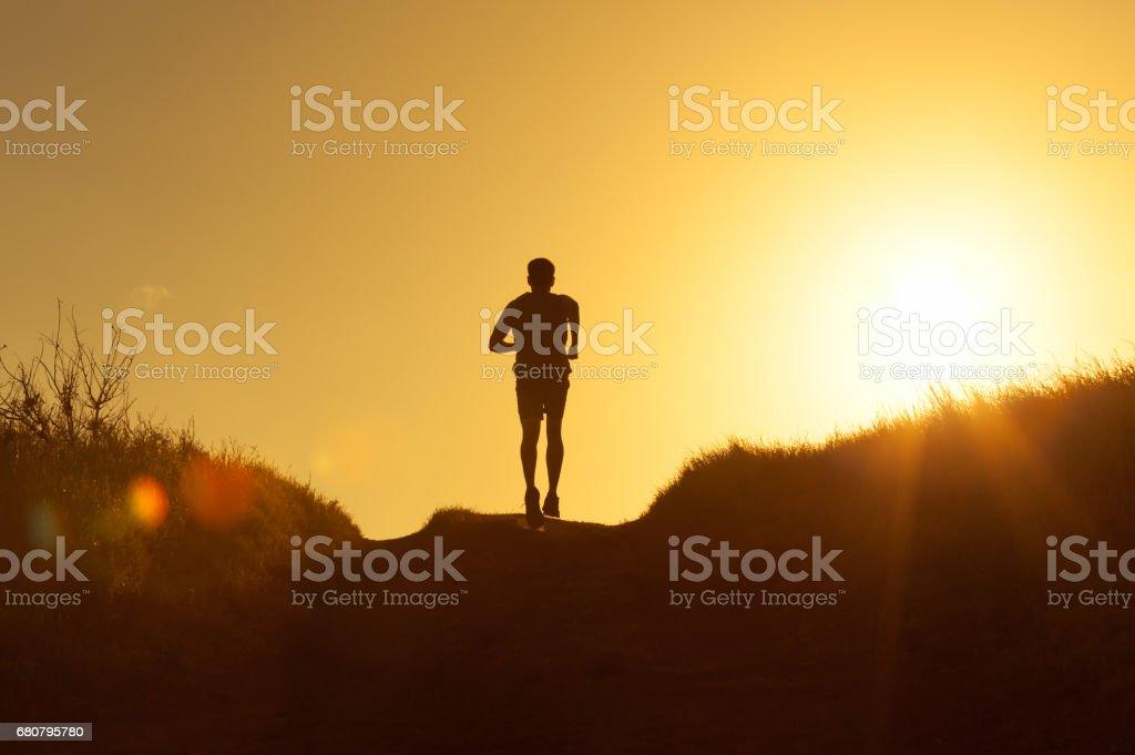 Male runner – Foto