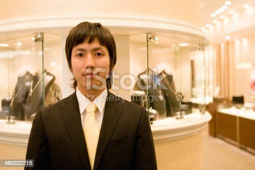 478253473istockphoto Male salesclerk of jewelery store 480332215