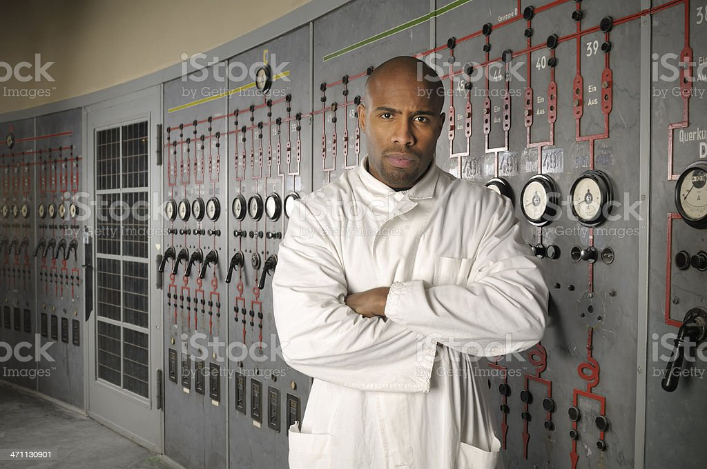 Male Scientist royalty-free stock photo