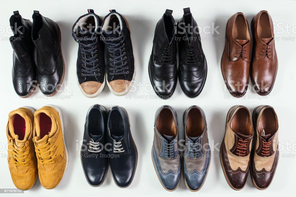 Männliche Schuhe Kollektion – Foto
