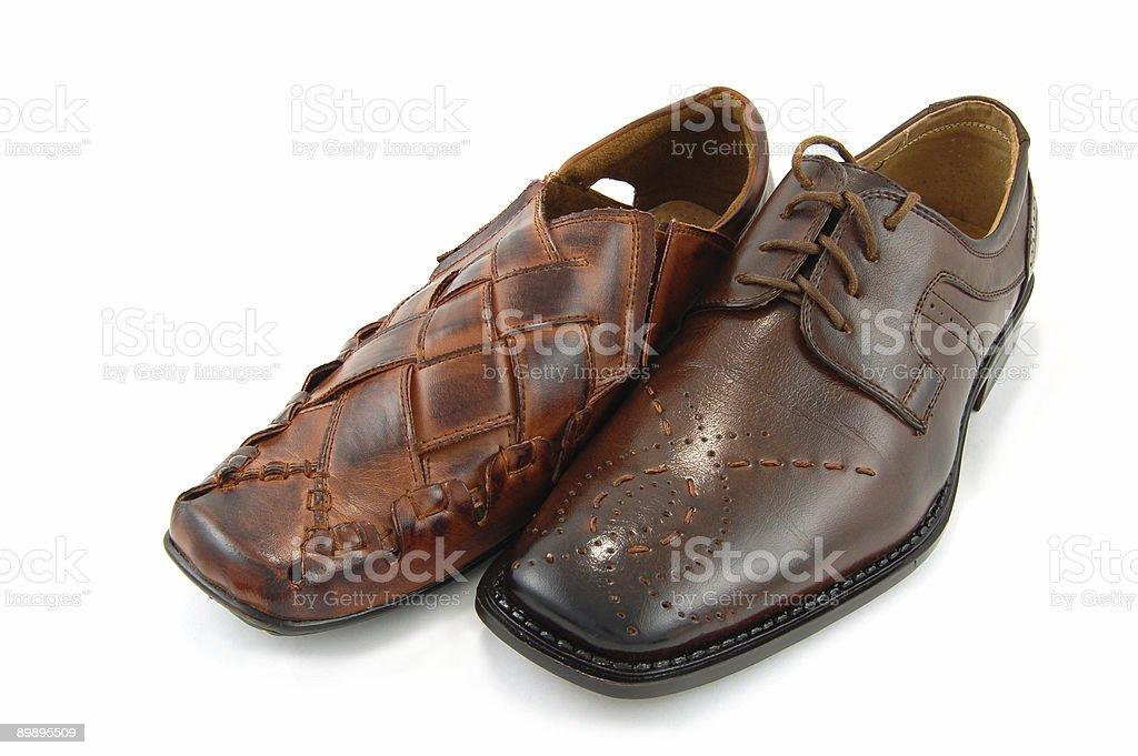 Мужской обувь Стоковые фото Стоковая фотография