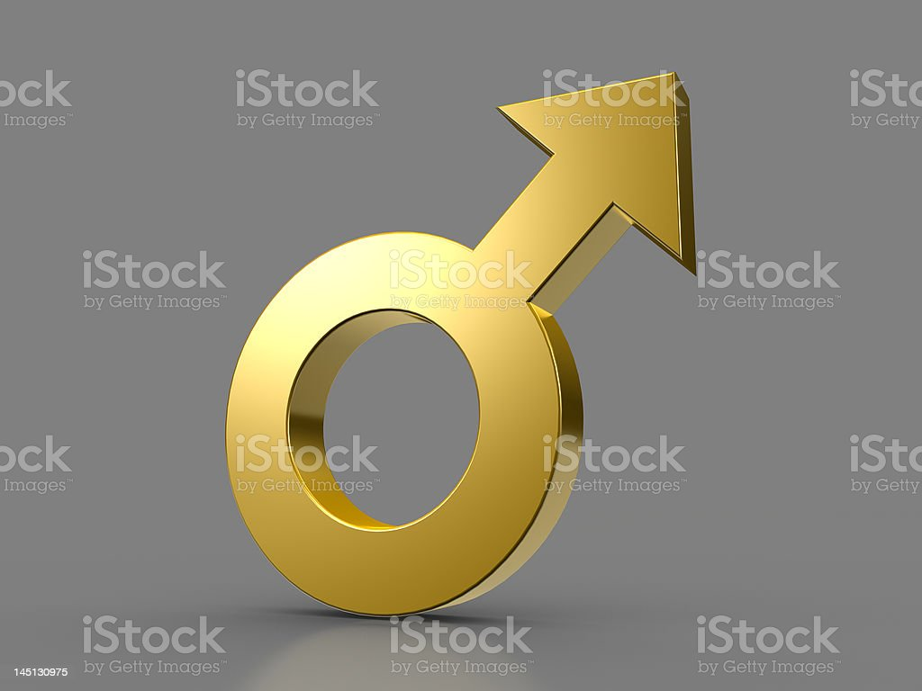 Male sign royalty-free stock photo