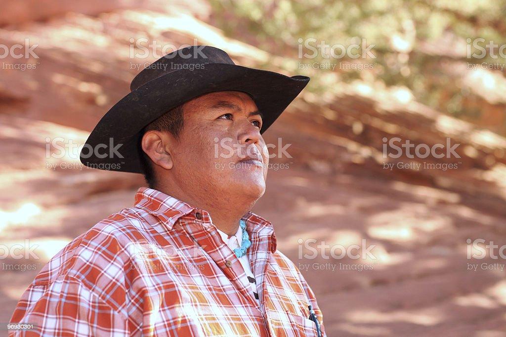 Male Southwesterner stock photo