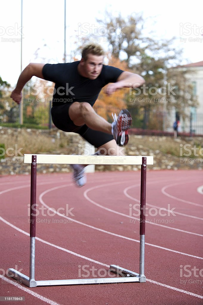 male sports portraits royalty-free stock photo