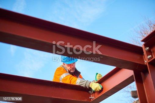 male steel erector