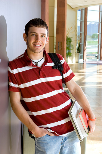 Male Student Stock Photo - Download Image Now