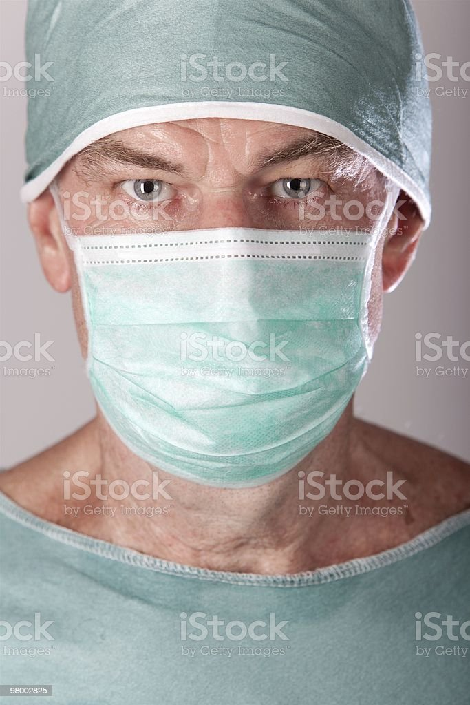 Male Surgeon royalty free stockfoto