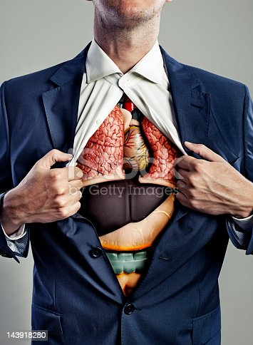 istock Male torso with internal organs visible 143918280