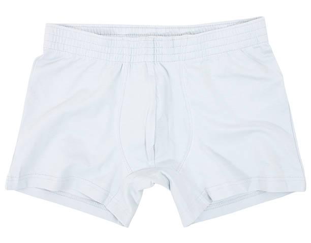 sous-vêtements masculins isolés sur le blanc - homme slip photos et images de collection