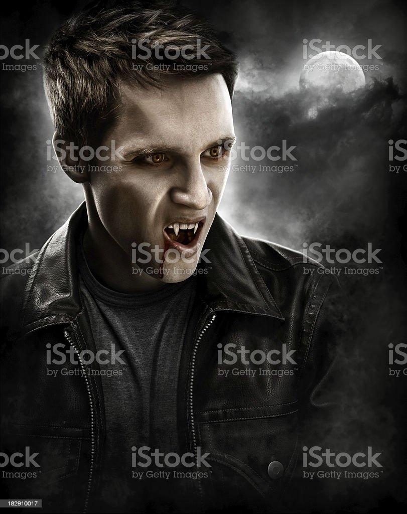 Männlicher Vampir – Foto