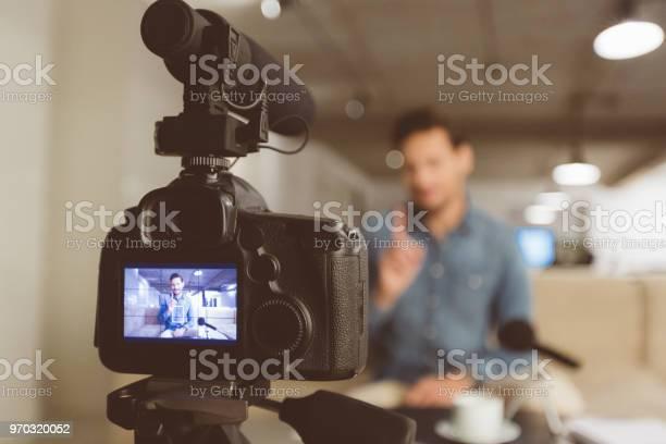 Male vlogger recording content for his vlog picture id970320052?b=1&k=6&m=970320052&s=612x612&h=t0wg 2jlzt9es1ih7gfixnziz2atzf9vbk7o38tdmkg=