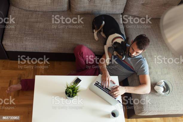 Male working on laptop from his home picture id863733952?b=1&k=6&m=863733952&s=612x612&h=pptakps5pyw1ibeaae5my6gx0zjl epxsdcqiw9rxra=